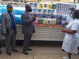 Presbyterian Church Commends Health Workers