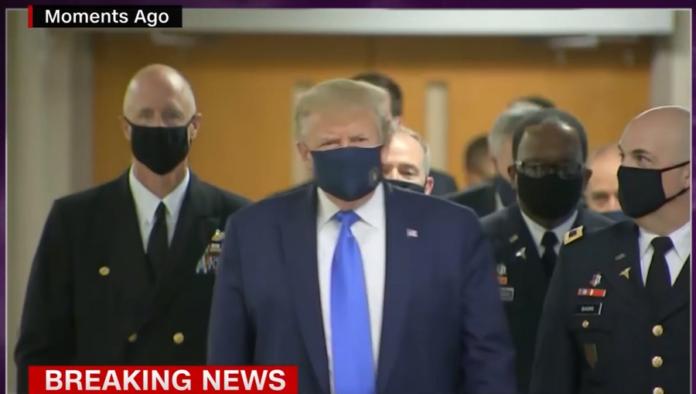 A Screenshot Taken From Cnn S Broadcast