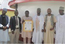 Alhaji Akanayo Honoured