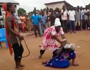lynched woman