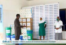 Catholic Hospital Receives Covid Medical Supplies