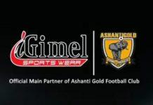 AshantiGold SC and iGimel sportswear