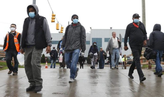Fca Warren Truck Plant Workers Returned To Work Amid Covid Pandemic Ap Photo