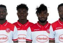 4 Ghanaian Players