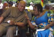 John Mahama And Jane Naana Opoku Agyeman