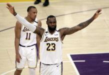 La Lakers Lebron James