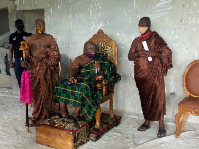 Torgbuiga Adzongaga Amenya Fiti V Paramount Chief Of Aflao Traditional Area