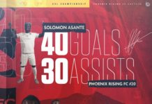 Solomon Asante Sets Enviable Record
