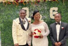 Emmanuel Osei Kuffour marries