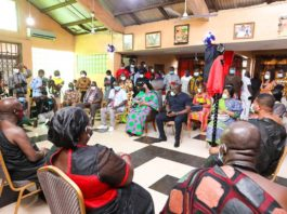 First Lady S Presentation To Tema Traditional Council
