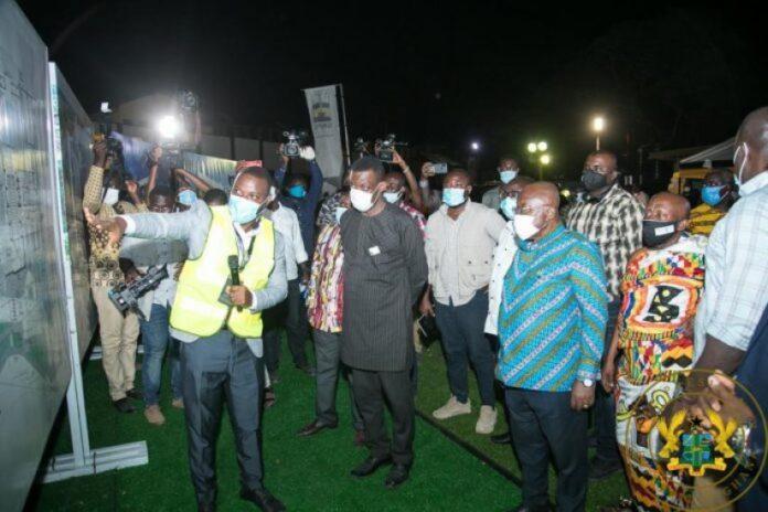 President Cuts Sod For M Gnpc Operational Head Office In Takoradi