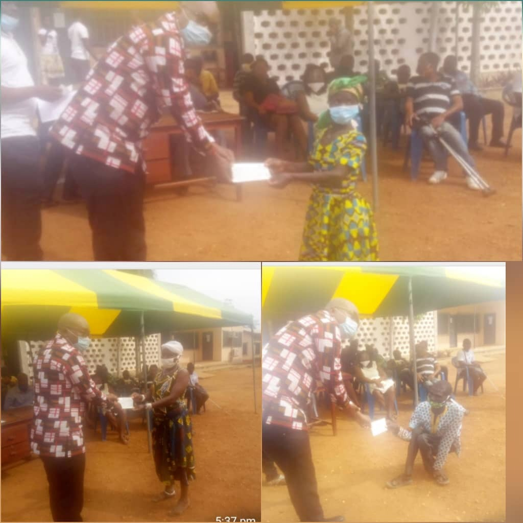 South Tongu Assembly urges PWDs to use disability funds judiciously