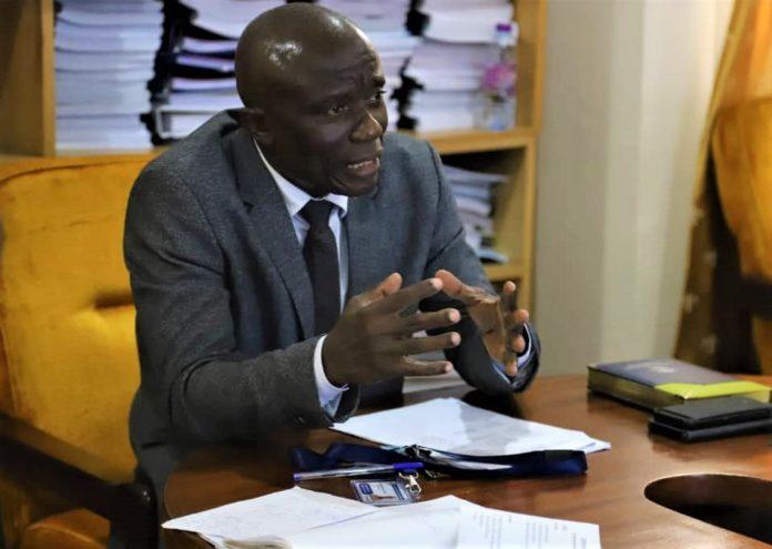 Chief Executive of the Community Water and Sanitation Agency (CWSA), Engineer Worlanyo Kwadjo Siabi (MV)