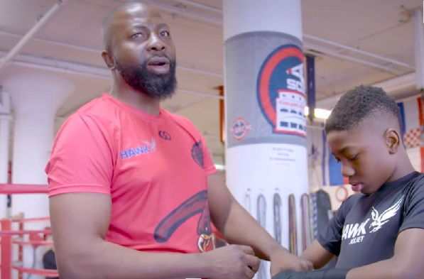 Joseph Awinongya Sn. Advises His Son