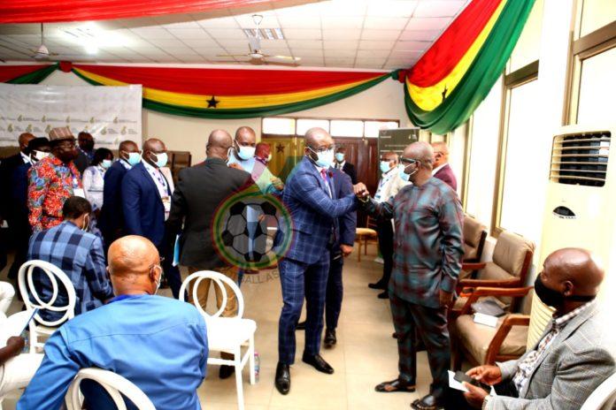 Ghana FA Salutes all