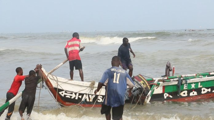 Fishers In Ghana