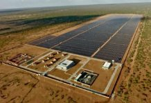 Photo shows the 50 MW Garissa Solar Power Plant. Photo from China Jiangxi International Economic and Technical Cooperation Co., Ltd.