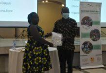 Gizcomcashew Awards Ghanaians Certificates As Cashew Mts