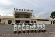 Health Airport Disinfection