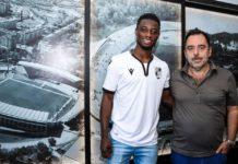 Gideon Mensah joins Vitoria Guimaraes