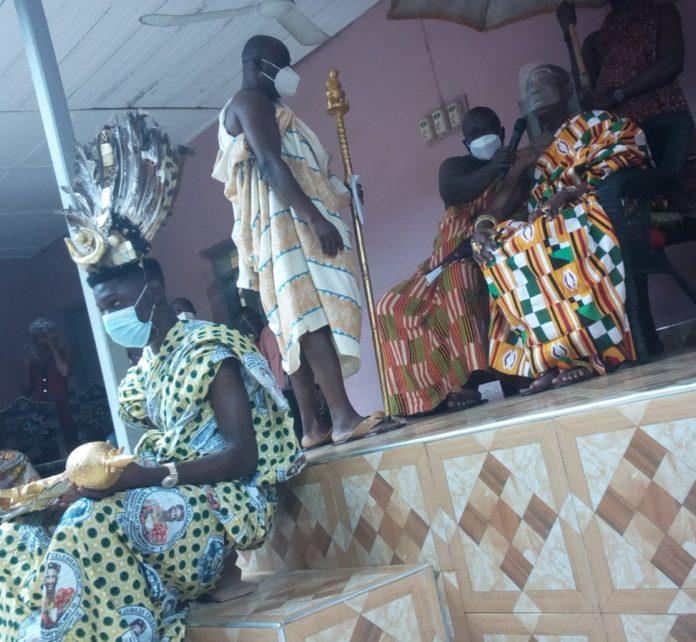Nana Boakye Tromo Ii Paramount Chief Of Duayaw Nkwanta Traditional Area