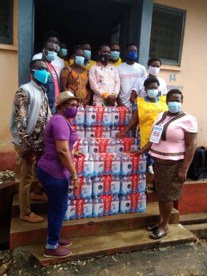 Rotary Club Of Ho Supports Polio Immunisation