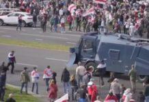 Belarusians Protest