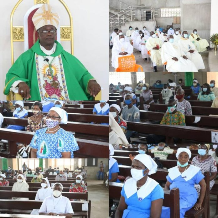 Bishop Of Ho Diocese Marks Fifth Anniversary