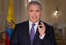 Colombian President Ivan Duque
