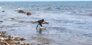 Tema Newtown Beach. Pic credit: Jackline Favour, SOA Ghana Fellow