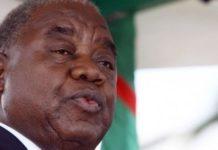 Former Zambian President Rupiah Banda