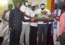Mr Eric Asomani Asante Middle Won The Best Teacher Award