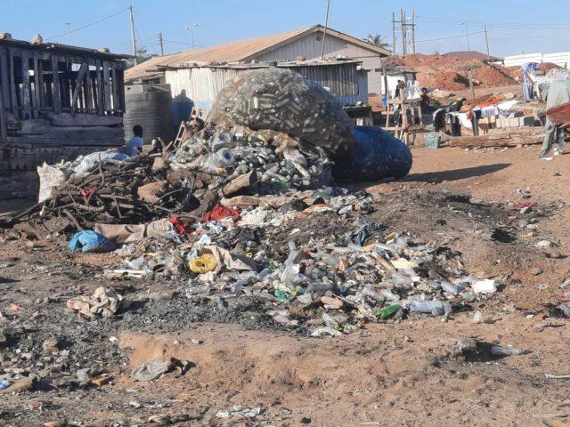 Plastic Waste At Labadi Pic Credit Juliet Etefe, SOA Ghana