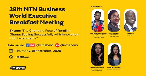 Th Edition Of Mtn Business World Executive Breakfast Meeting