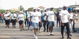 Health Lions Walk
