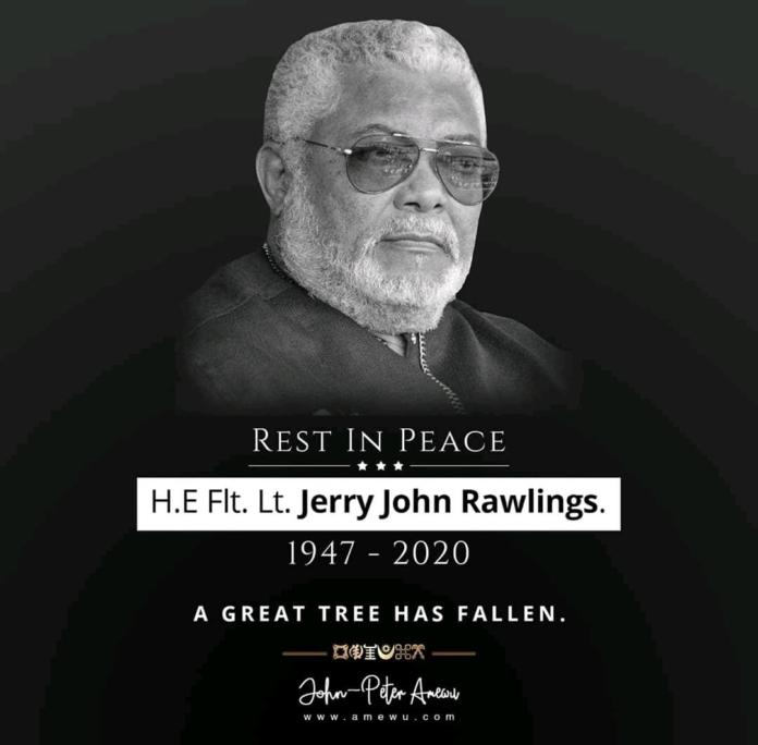 Late President Rawlings