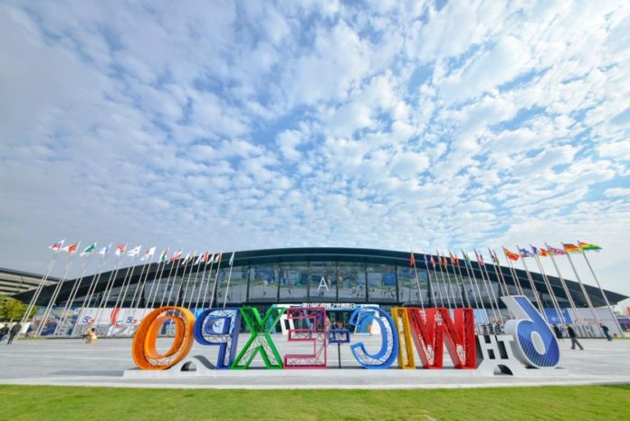 The Light of Internet Expo of the 6th World Internet Conference kicks off in Wuzhen, east China's Zhejiang province on Oct. 18, 2019. (Photo by Zhan Yu/People's Daily Online)