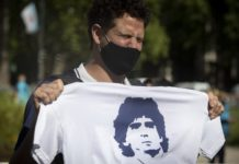 Maradona Buried