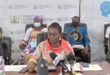 Mrs Ursula Owusu Ekuful Minister Of Communications