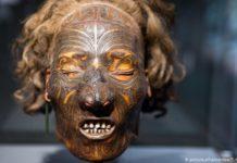 Mummified Maori Heads
