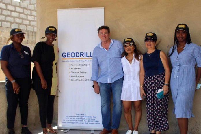 Geodrill backs construction of a modern complex