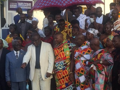 Reject any violent politician – PCG Moderator tells Ghanaians