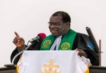 Rt Rev Prof Joseph Obiri Yeboah Mante