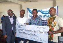 Asamoah Gyan Foundation Donates