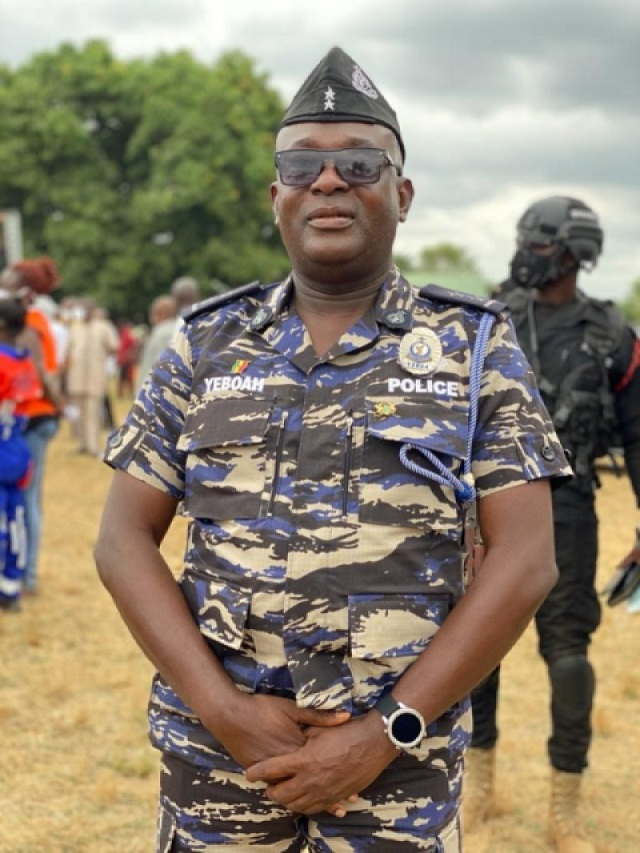Assistant Superintendent Of Police Mr Alex Yeboah