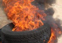 Burnt Tyres
