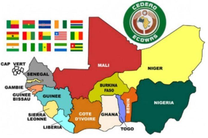 Ecowas Map