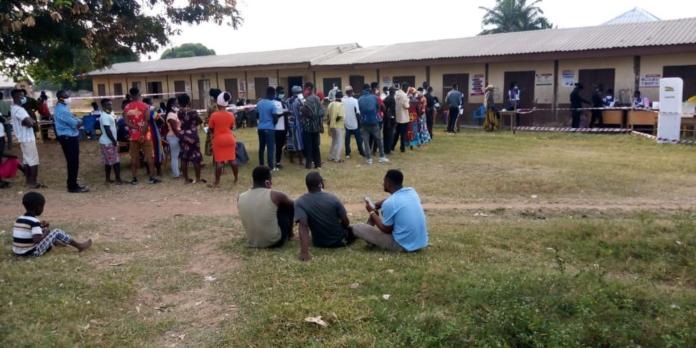 Election Underway In Oti