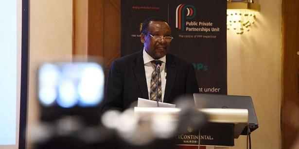 Embu University Vice Chancellor Daniel Mugendi