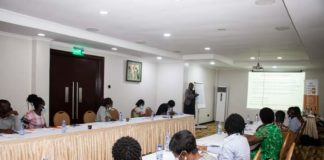 MCAN members at UNFPA's orientation
